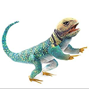 Folkmanis Collared Lizard Hand Puppet Plush
