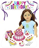 Sophia's Happy Birthday Celebration Set for 18'' Dolls