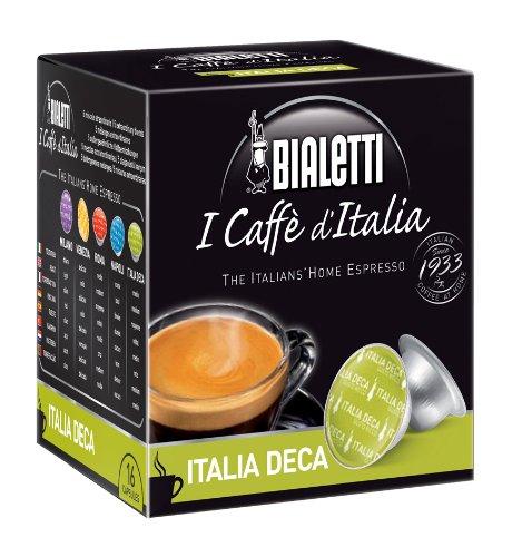 Bialetti 6823 Mini Express Espresso Capsules, Italia Deca (decaffeinated), 16-pack Review