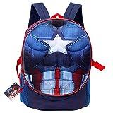 "Backpack - Captain America - Civil War Pop-Up 3D 16"" New 56310"
