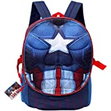 Lil' Diner Captain America Civil War Pop-Out Dual Compartment Backpack