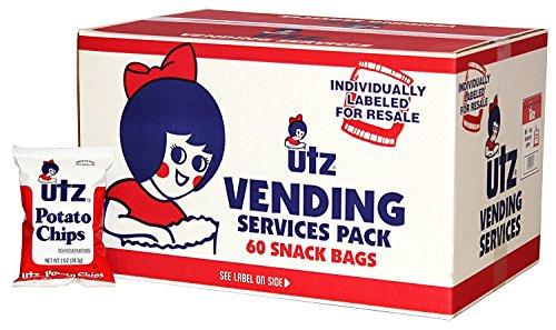 Utz Potato Chips 1 oz (60 Pack)