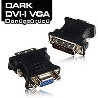 Dark DK-HD-ADVIXVGA DVI Erkek/VGA Dişi Dönüştürücü