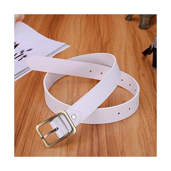 Firally Hot sale Cintura,Donne Casual Pin Fibbia Cinturino Ecopelle Jeans Abito regolabile cintura Dimensioni Regolabili… 2 spesavip