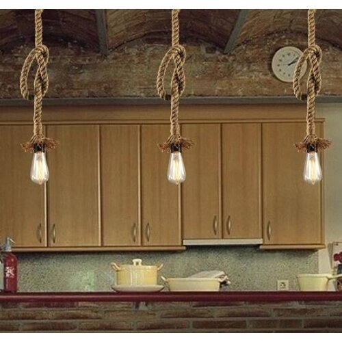 Country style outdoor lights amazon lightinthebox retro 1 lamp hemp rope chandelier retro country style pendant lights workwithnaturefo