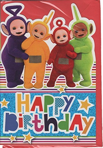 Amazon Teletubbies Happy Birthday Card Office Products