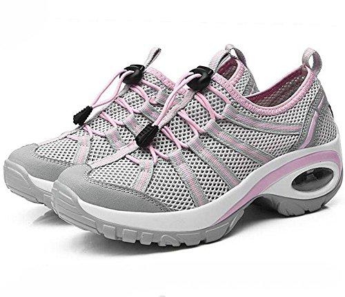 KUKI Damen, die zufällige starke Wanderschuhe der Schuhe im Freien wandern , 4 , US5.5 / EU35 / UK3.5 / CN35