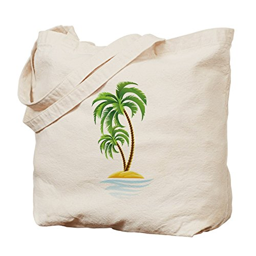 CafePress Palm Tree Tote Bag - Standard Multi-color by CafePress