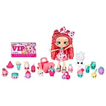 Shopkins Shoppies - Lucy Smoothie Super Shopper Pack - 20 Pieces - Exclusive Shoppie & Shopkins