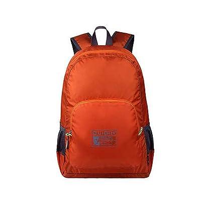 Ranbow Waterproof Backpack Foldable Backpacking Packs Mountaineering Bag 25L, Orange
