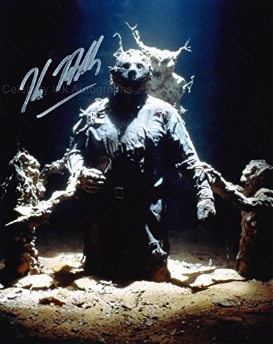 KANE HODDER as Jason Voorhees - Friday 13th GENUINE AUTOGRAPH from Celebrity Ink