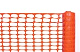 Cortina Safety Products 03-902 Lightweight Barrier Fence, 4' x 100', Orange