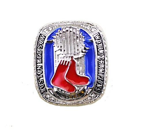 YIYICOOL BTN 2013 Red Sox Championship Ring with Display Box