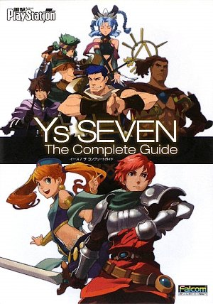 Ys Seven The Complete Guide (Japanese Import)