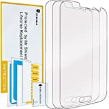 Mr Shield For Samsung Galaxy Prevail LTE (Boost Mobile) Premium Clear Screen Protector [3-PACK] with Lifetime Replacement Warranty