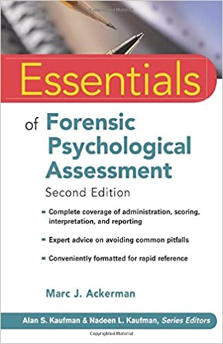 Essentials of forensic psychological assessment 9780470551684 essentials of forensic psychological assessment 9780470551684 medicine health science books amazon fandeluxe Images