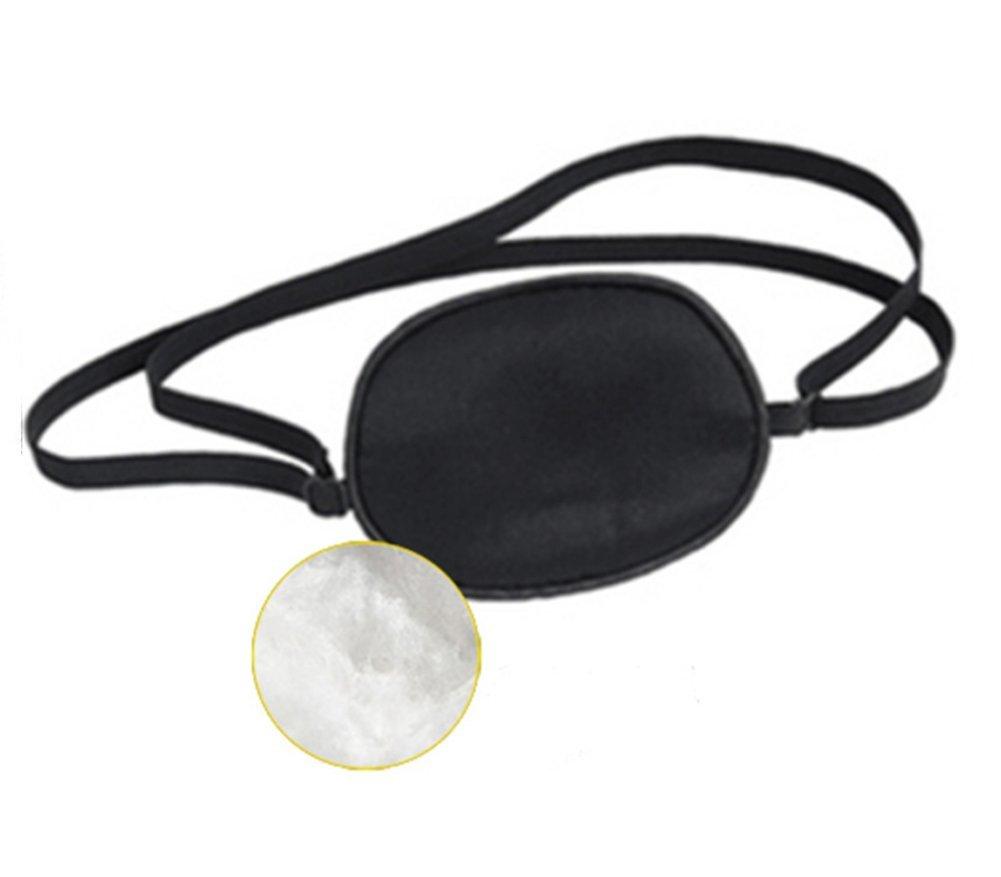 2pcs Mulberry pulgas seda máscara de ojo ambliopía corrección recuperación de agudeza visual ojo parche para niños color al azar: Amazon.es: Deportes y aire ...