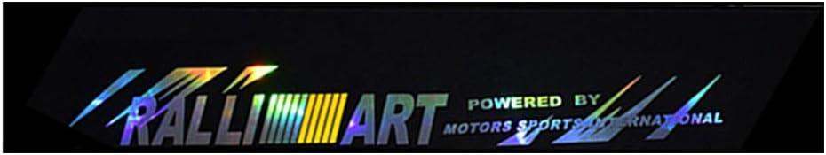 YO-HAPPY Laser Reflective Letters Auto Auto Frontscheibe Windschutzscheibe Aufkleber Aufkleber