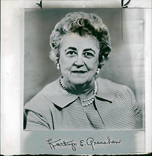 Vintage Photo Of Kathryn E  Granahan