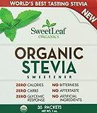 SweetLeaf Organic Stevia Sweetener, 35 Packets (Pack of 12) Review