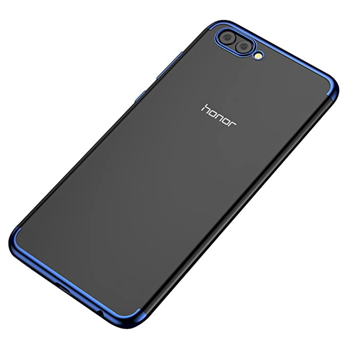 2 opinioni per BLUGUL Cover Honor View 10, Electroplating Coloring, Ultra Sottile, Morbida TPU