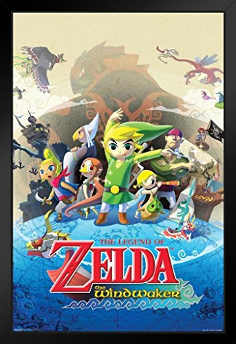 Pyramid America The Legend Zelda Wind Waker Nintendo for sale  Delivered anywhere in Canada