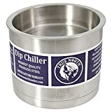 $32.99True North Stainless Steel Fresh, Cold or Warm Dip Chiller - Double-Walled, Insulated, Kitchen Grade - 35 Ounces
