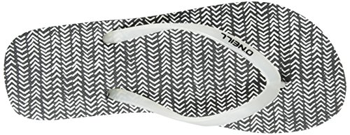 ONeill FW Printed, Chanclas Mujer Negro (Black Allover Print W/ White 10)