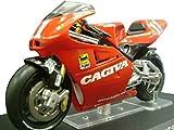 Ixo 1/24 scale bike collection CAGIVA 500 1994 John Kocinski