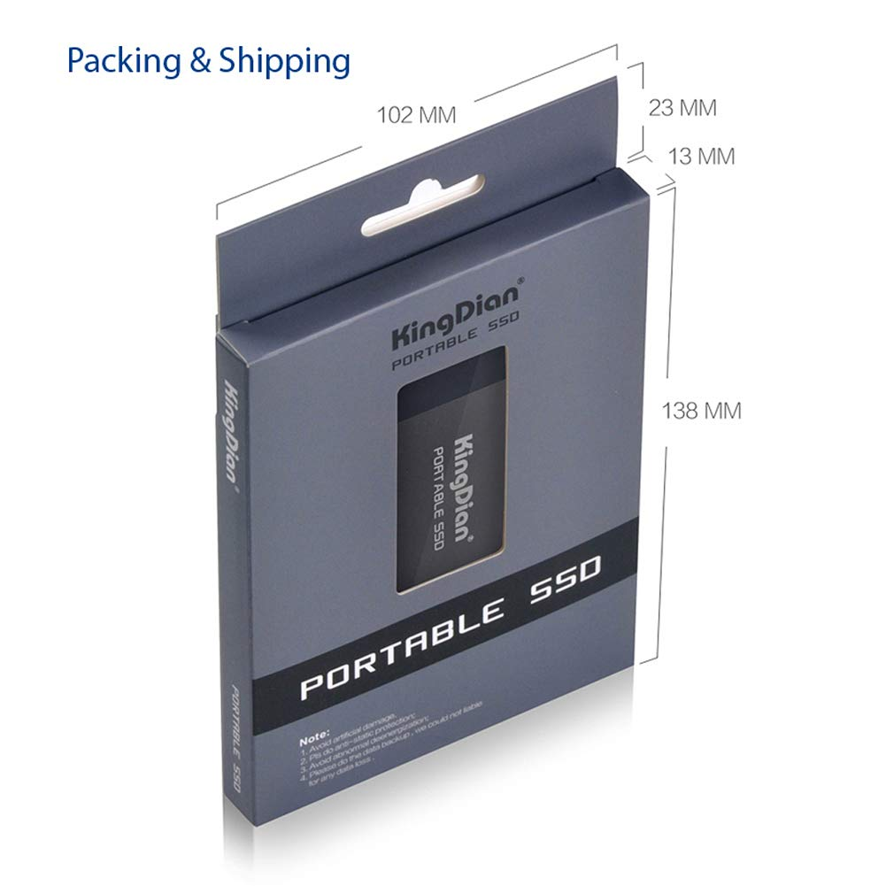 KingDian 120gb 240gb External SSD USB 3.0 Portable Solid State Drive 120GB