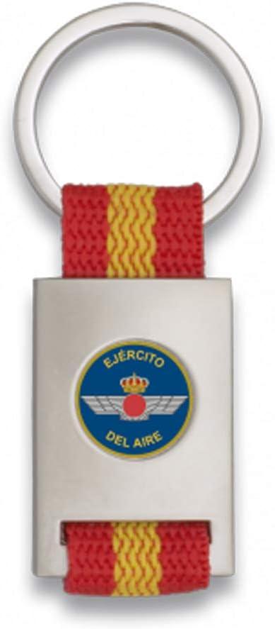 Tiendas LGP Albainox- Llavero Bandera de España y Emblema Ejército ...