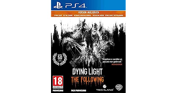 Ps4 Dying Light The Following Enhanced Edition - Classics ...