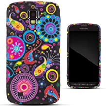 Zooky® Colorful TPU flower Case / Cover / Shell for Samsung Galaxy S4 Active (I9295)