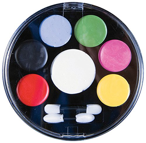 Day Of The Dead Male Makeup Kit (Forum Novelties - Day of the Dead Face Paint Makeup Kit, Net Wt. 14 g/.5 Oz)