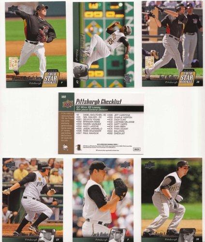 2010 Upper Deck Baseball / Pittsburgh Pirates Team Sets - Lot of 3 / Daniel McCutchen, Neil Walker, Delwyn Young & More