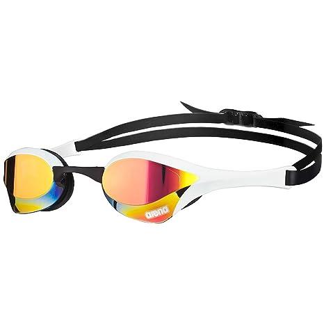 Arena Cobra Ultra Mirror Racing Goggles Red Revo/White/Black