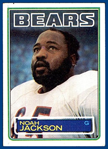 1983 Topps #32 Noah Jackson CHICAGO BEARS Tampa (ex)]()