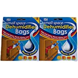 4 Small Space Dehumidifier Bags/2 Packs of 2
