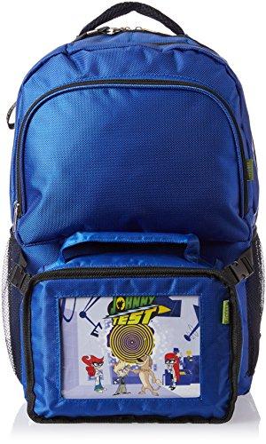 Pak-Easy Johnny Test Spinning Vortex Animated Lit Backpack Combo