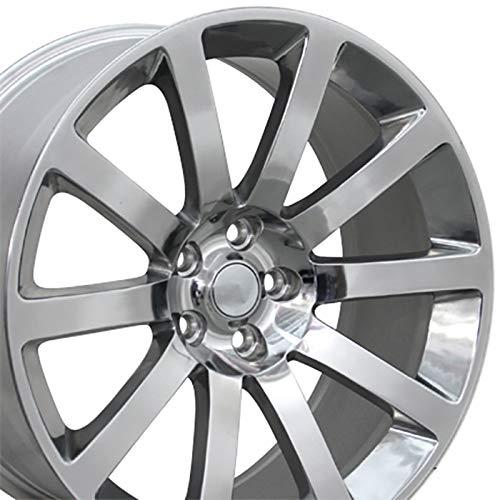 Srt Chrysler (OE Wheels 20 Inch Fits Chrysler 300 Challenger SRT8 Charger SRT8 Magnum 300 SRT Style CL02 Polished 20x9 Rim Hollander 2253)