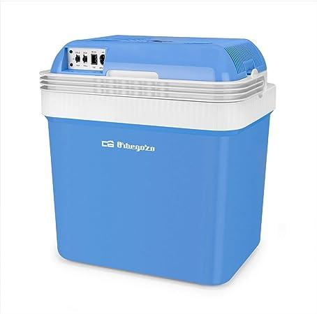 Orbegozo NV 4100 4100-Nevera eléctrica portátil, 25 L de Capacidad, función, Separador Interior, frío 60 W, Potencia Calor 55 W, Negro