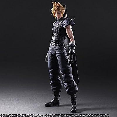 Square Enix Final Fantasy VII Remake Cloud Strife Play Arts Kai Action Figure: Toys & Games