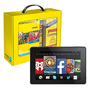 Rosetta Stone Spanish (Latin America) Power Pack and Fire HD 7 Bundle
