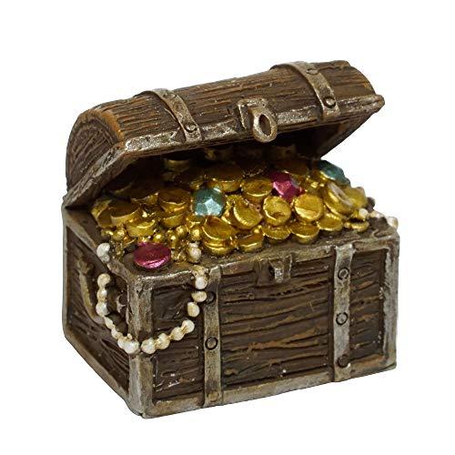 Pirate Treasure Chest for Miniature Garden, Fairy Garden
