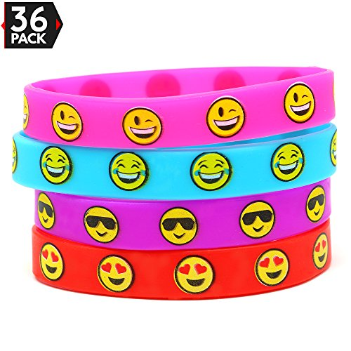 Big Mo S Toys Emoji Silicone Bracelets Party Favors