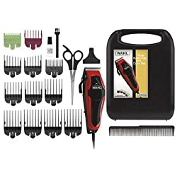 Wahl Clipper Clip 'N Trim 2 In 1 Hair Cutting Clippertrimmer Kit With Self Sharpening Blades, 79900-1501