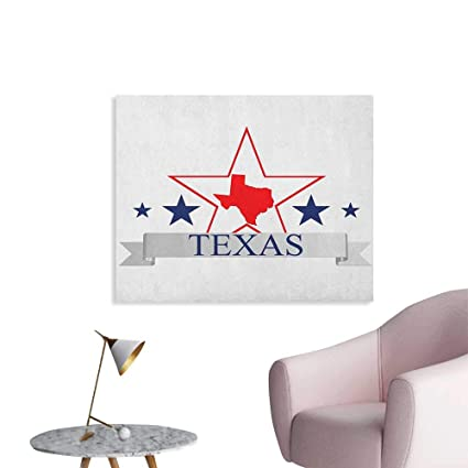 Amazon Com Texas Star Poster Wall Decor San Antonio Dallas