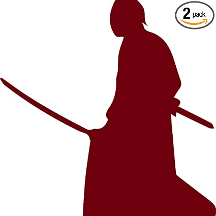 Amazon.com: Samurai Silhouette Warrior Ninja clipart 3 ...
