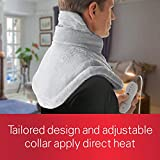 Sunbeam Heating Pad for Neck & Shoulder Pain Relief