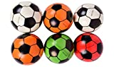 Planet Of Toys Set Of 12 Hop Balls - Football Design For Kids / Children